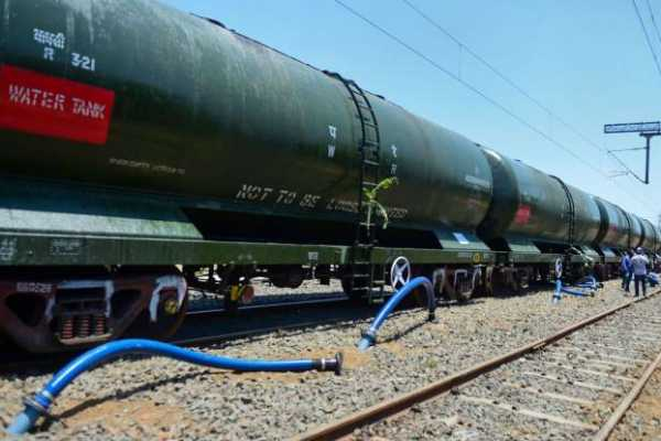 project-to-provide-drinking-water-to-chennai-by-rail