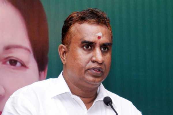 bilingual-policy-in-tamil-nadu-ministervelumani
