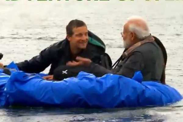pm-narendra-modi-to-feature-in-discovery-channel-s-popular-show-man-vs-wild-with-bear-grylls