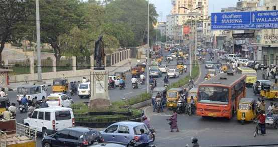 traffic-change-in-chennai-anna-salai