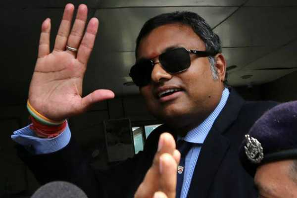 karti-chidambaram-asked-to-vacate-jor-bagh-house-within-10-days-over-inx-corruption-case