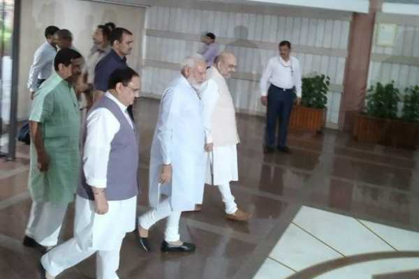 delhi-prime-minister-narendra-modi-arrives-at-parliament-for-the-two-day-training-programme-c