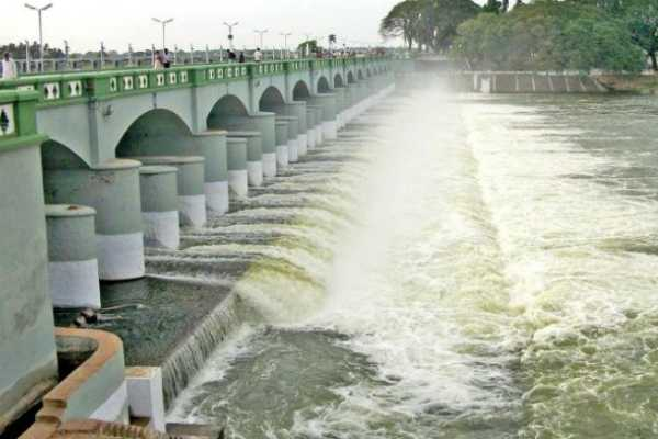 1-lakh-cusecs-of-water-in-the-opening-cauvery-river