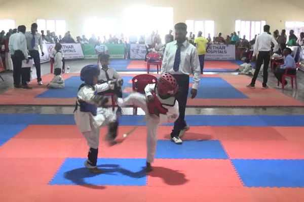 trichy-district-wide-taekwondo-competition