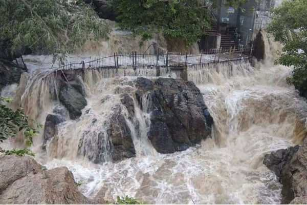 damaged-on-security-arrangements-at-hogenakkal-falls