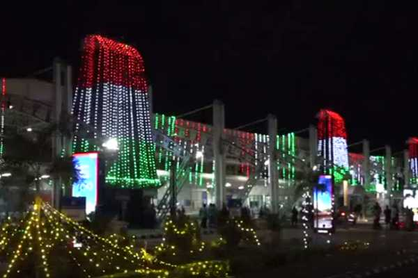 trichy-airport-shines-with-colorful-lights