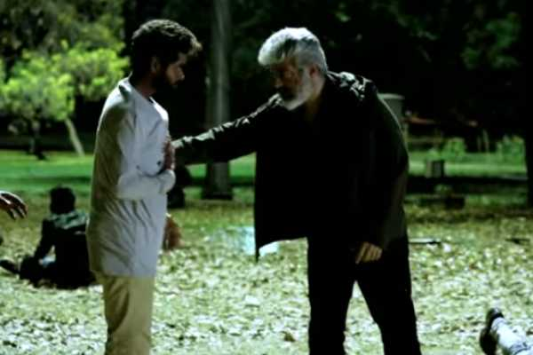 nerkonda-paarvai-action-sequence-making-video