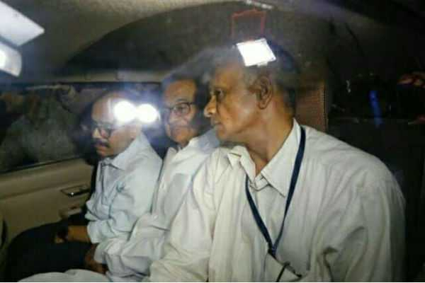 chidambaram-arrested