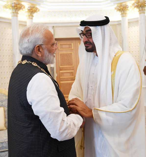 modi-recived-the-higest-civilian-award-of-uae