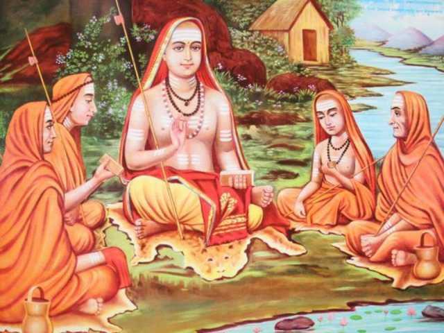 ambikai-plays-with-adi-shankara