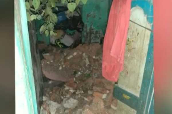 chennai-rain-woman-death-as-house-wall-collapses