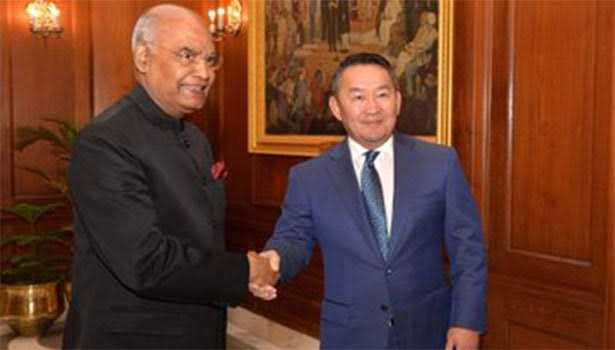 special-treat-for-mangolian-president-at-rashtrapathi-bhavan
