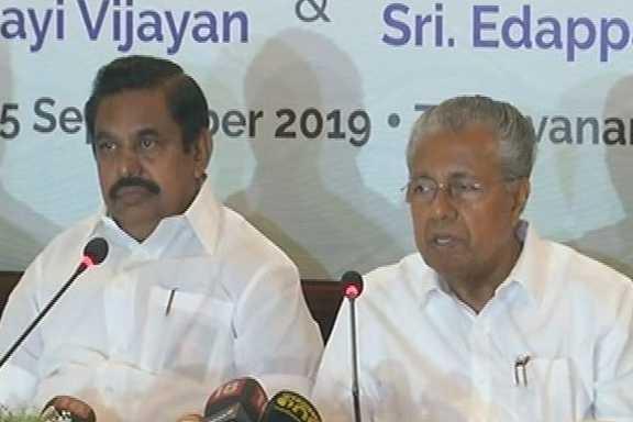 chief-ministers-palanisamy-and-pinarayi-vijayan-were-interviewed-jointly