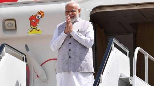 modi-arrives-at-delhi-airport