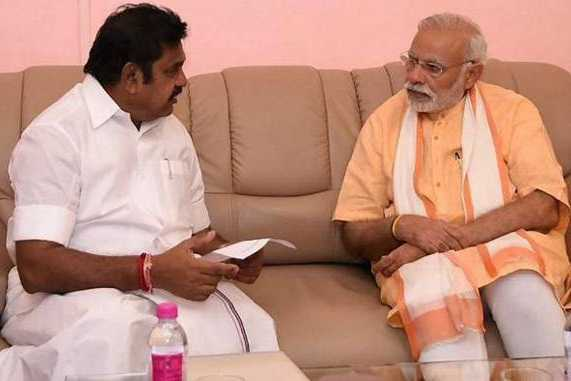 chief-minister-palanisamy-s-petition-to-the-prime-minister-of-chennai