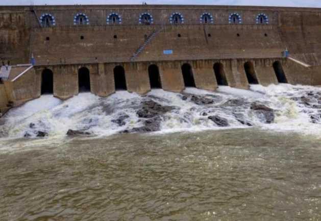 mettur-dam-the-water-level-is-low