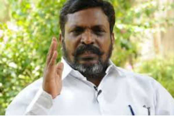 the-aiadmk-government-is-not-in-a-position-to-function-independently-thirumavalavan