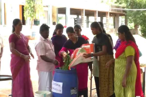 trichy-students-teach-to-make-natural-pesticides