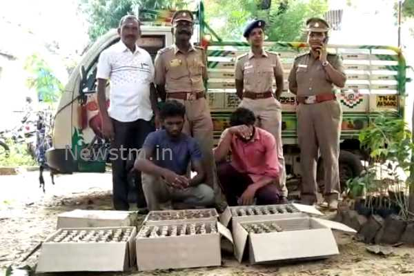 kumbakonam-two-arrested-for-smuggling-liquor