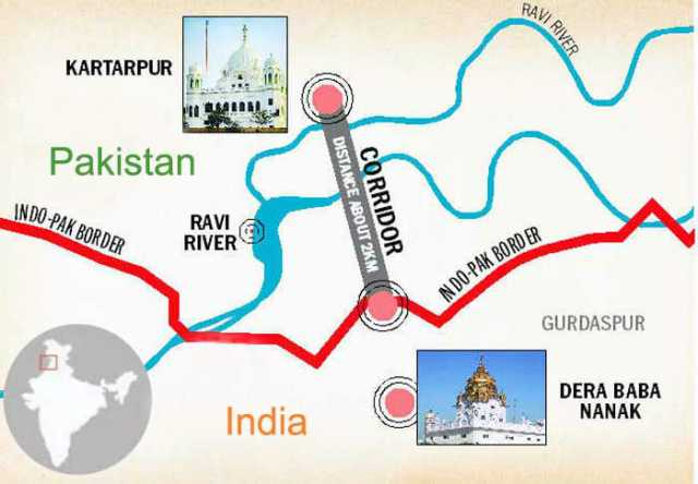 india-pakistan-to-sign-agreement-on-kartarpur-corridor-shortly-pact-to-be-inked-at-zero-point