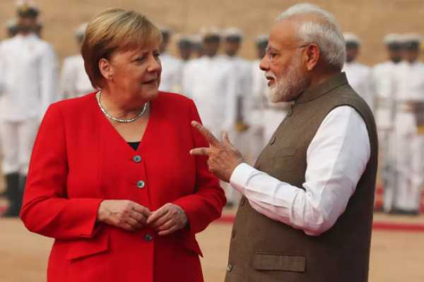 germany-cahcellor-angela-merkel-meets-indian-pm-modi