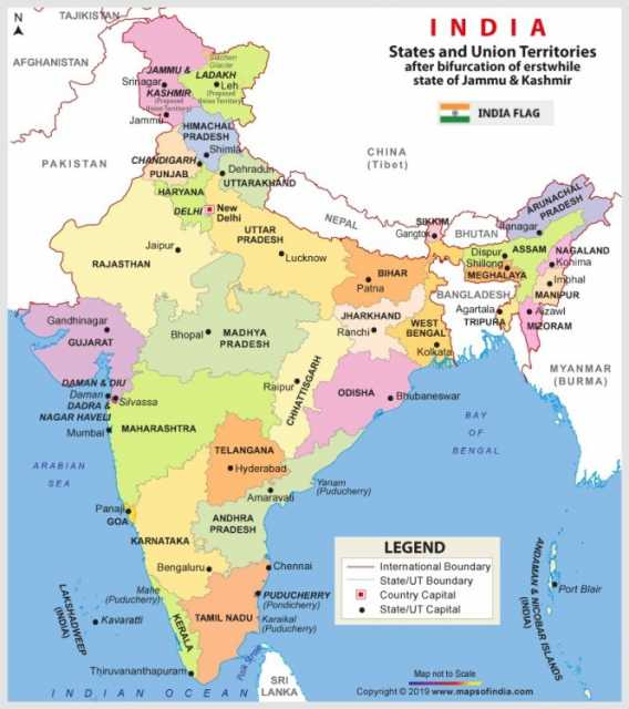 new-india-map