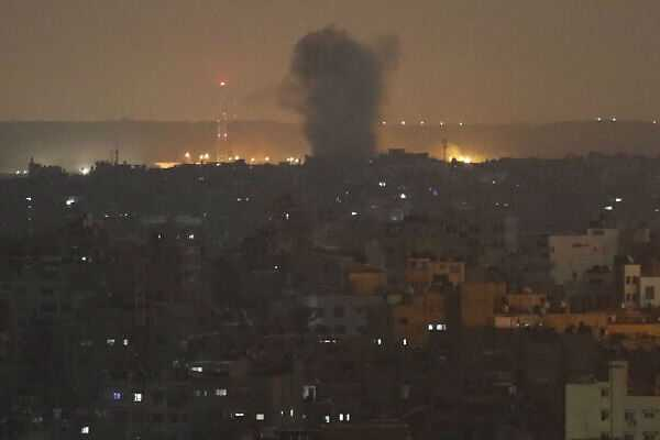 idf-hits-gaza-targets-in-response-to-rockets