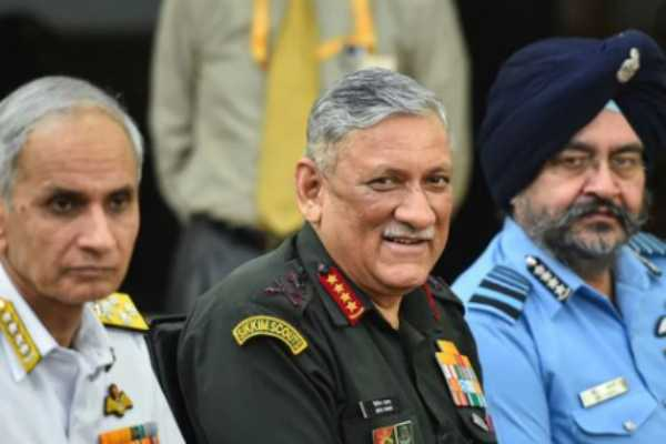 india-s-first-chief-of-defence-staff-will-direct-three-service-chiefs