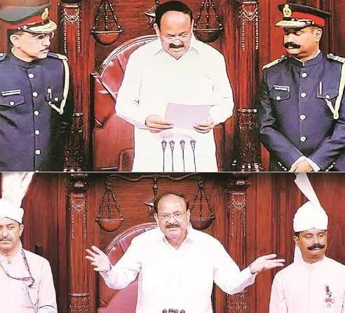uniform-of-rajya-sabha-marshals-why-and-how-it-was-changed