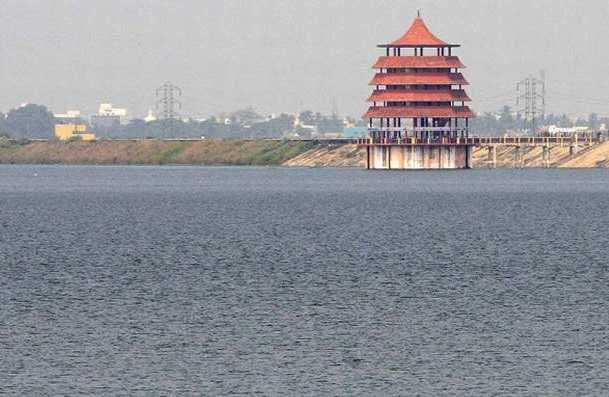 100-million-cubic-feet-of-water-in-one-day-sembarambakkam-lake