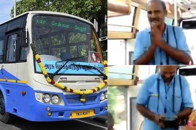 tamilnadu-bus-conductor-give-instructions-to-passengers-viral-video