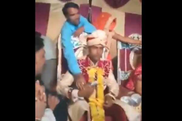 furious-groom-in-wedding-stage