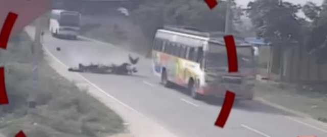 two-wheeler-crashed-road-cctv-footage