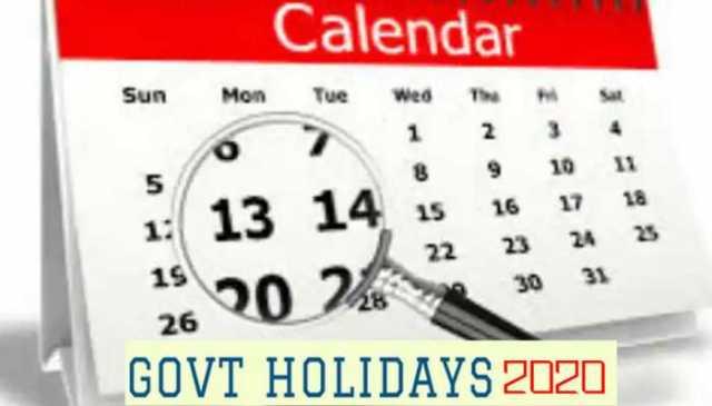 2020-holiday-list