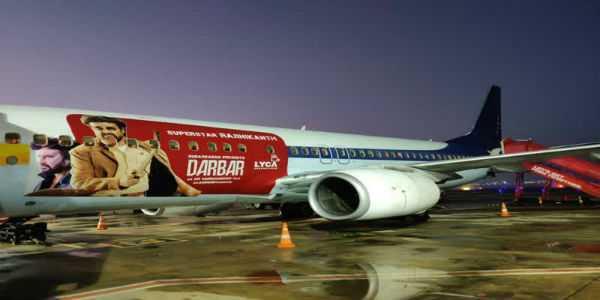 darbar-publicity-in-flights