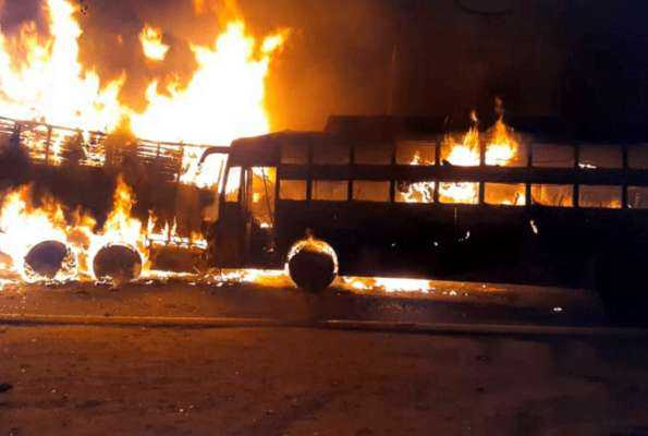 20-feared-charred-to-death-as-bus-catches-fire