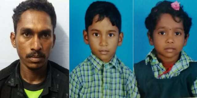 father-killed-his-own-son-and-daughter-police-arrested-him-by-gundas