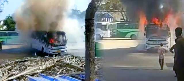 government-bus-fire-in-covai