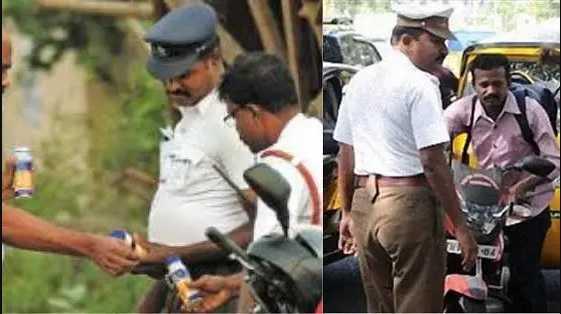 chennai-traffic-police-get-bribe-from-motorists