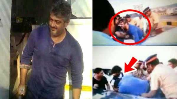 ajith-accident-in-valimai-shooting-spot
